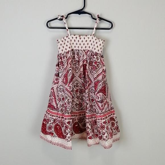 Baby Gap Paisley Dress Pink Size 3